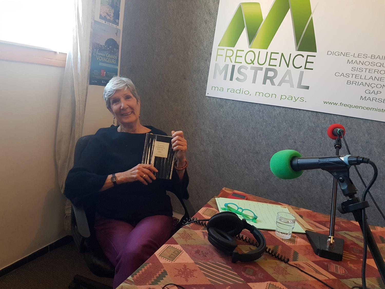Claudine Thiot bénévole à lire et faire lire.