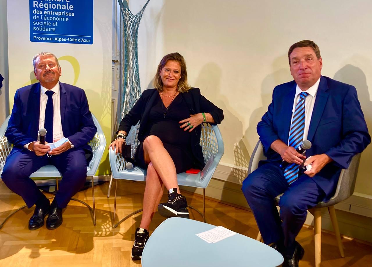 Denis Philippe, Olivia Gregoire, Yves Blisson