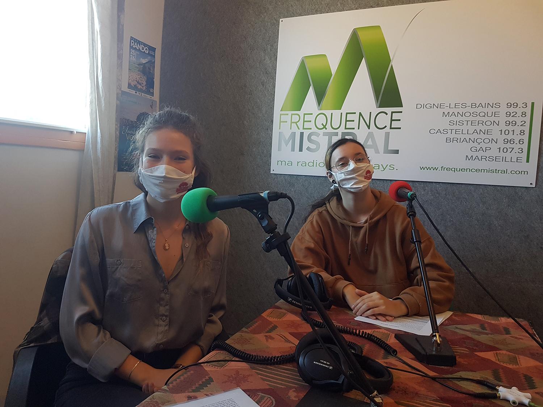Amélie Brucher et Elena Da Silva