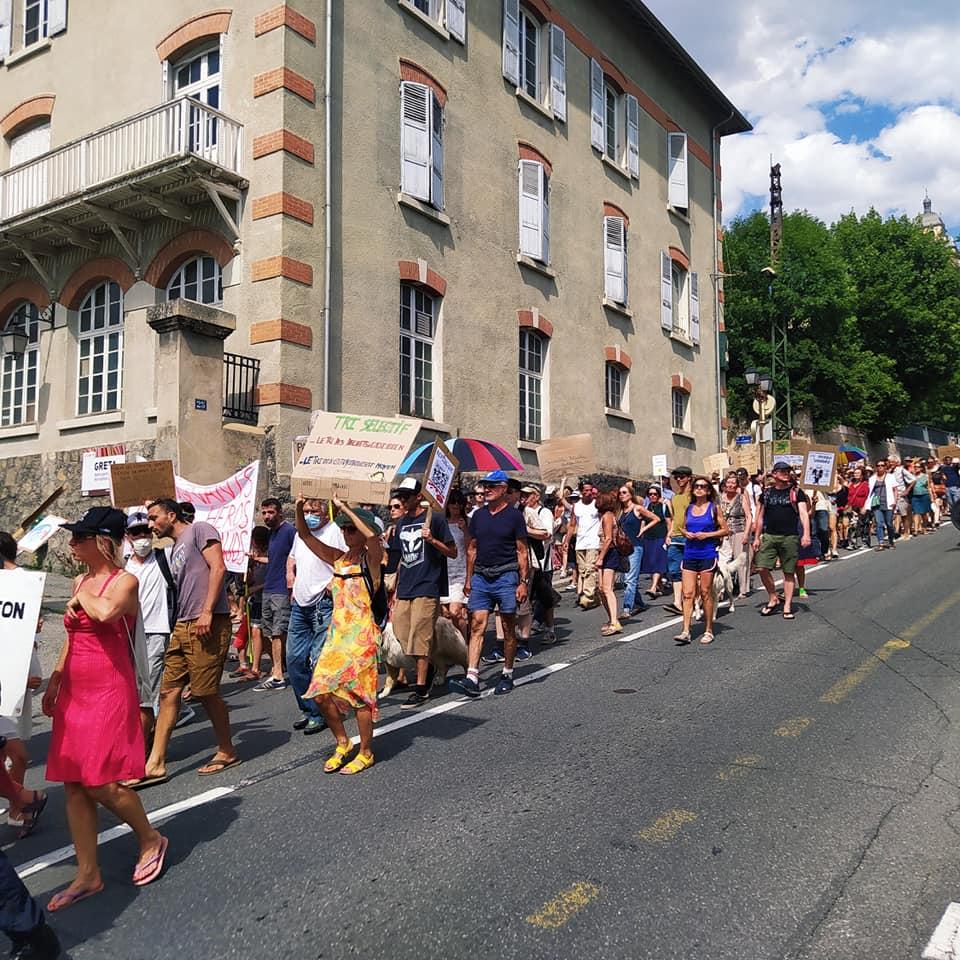 12 ème samedi de mobilisation à Briançon