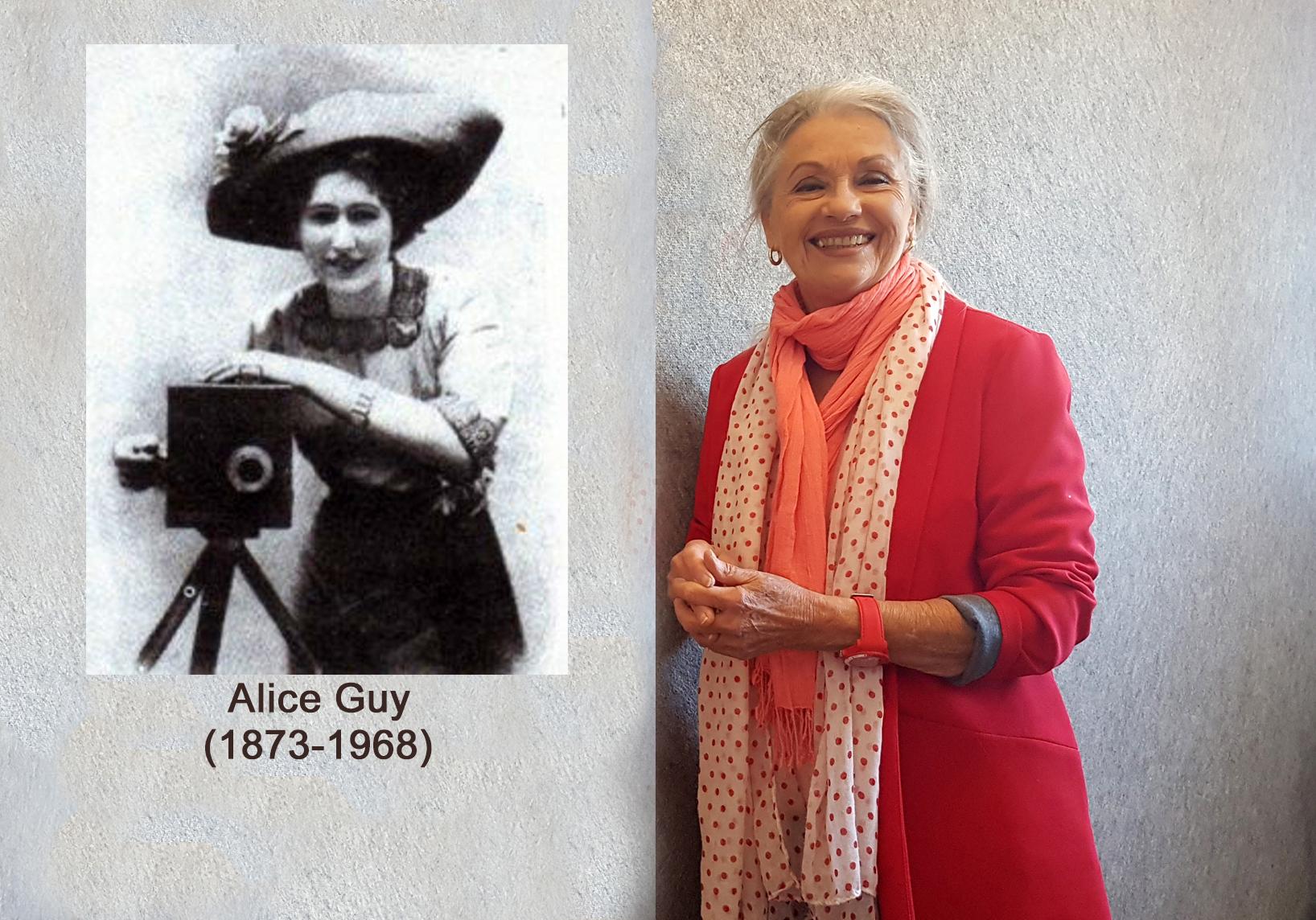 Alice Guy et Jacqueline Hennegrave