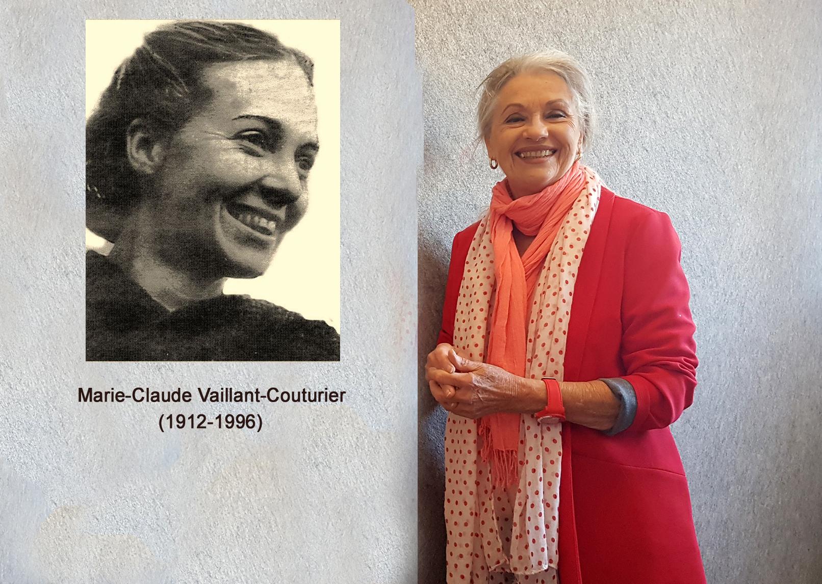 Marie-Claude Vaillant-Couturier et Jacqueline Hennegrave