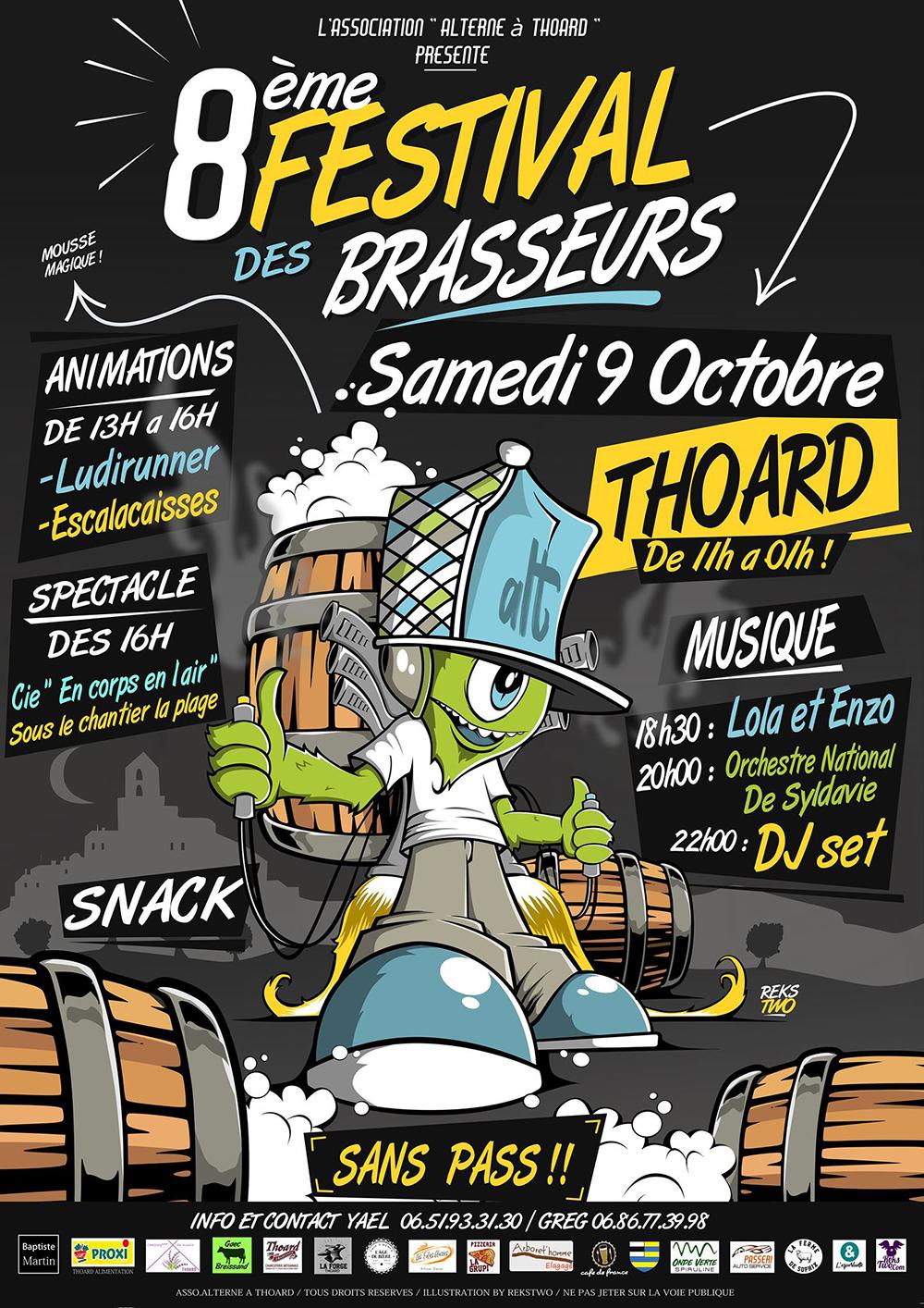 C'est la fête à Thoard : 8ème Festival des brasseurs