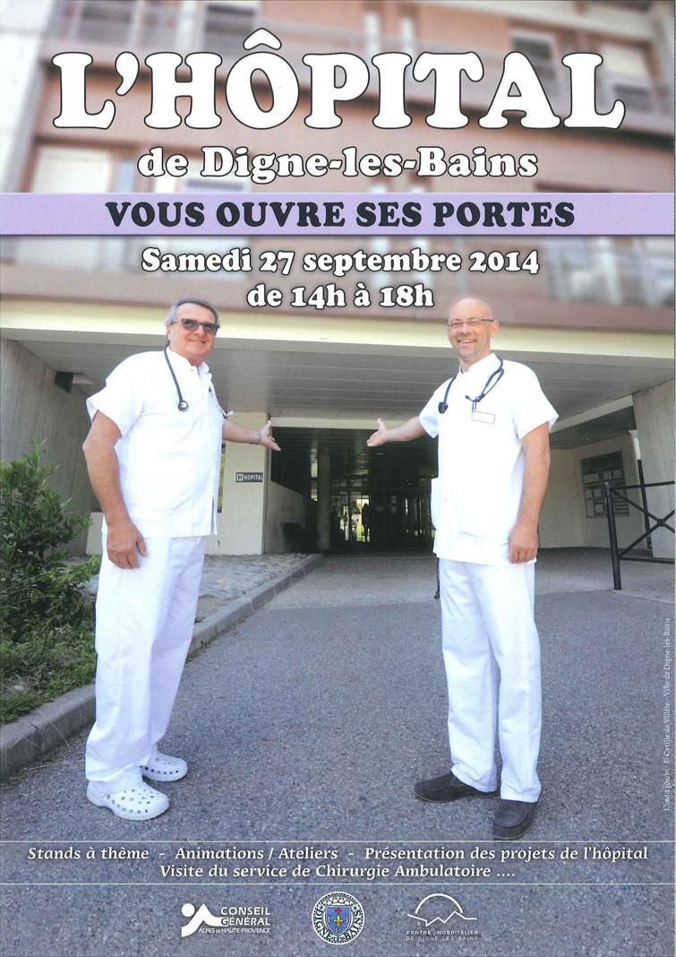 Journées portes ouvertes la semaine prochaine à l'hôpital de Digne