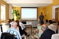 Le M-tourisme a été abordé hier après-midi à Aubignosc et ce matin à Embrun