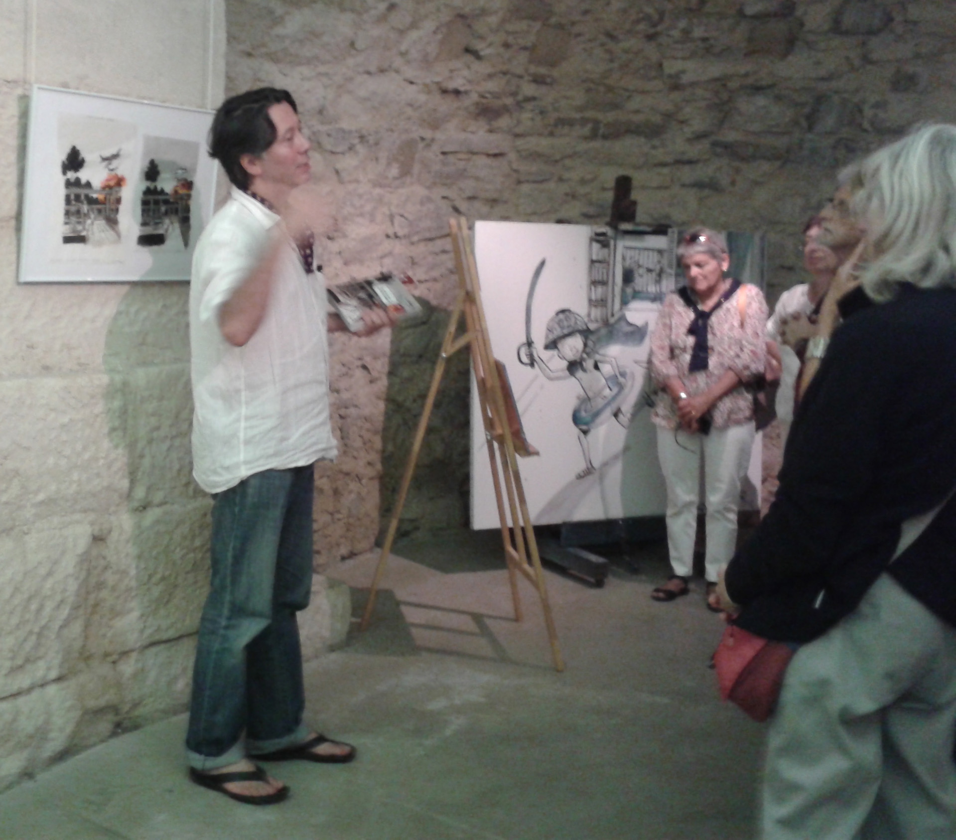 Auteur-illustrateur jeunesse, Marcelino Truong était à Manosque pour les Correspondances