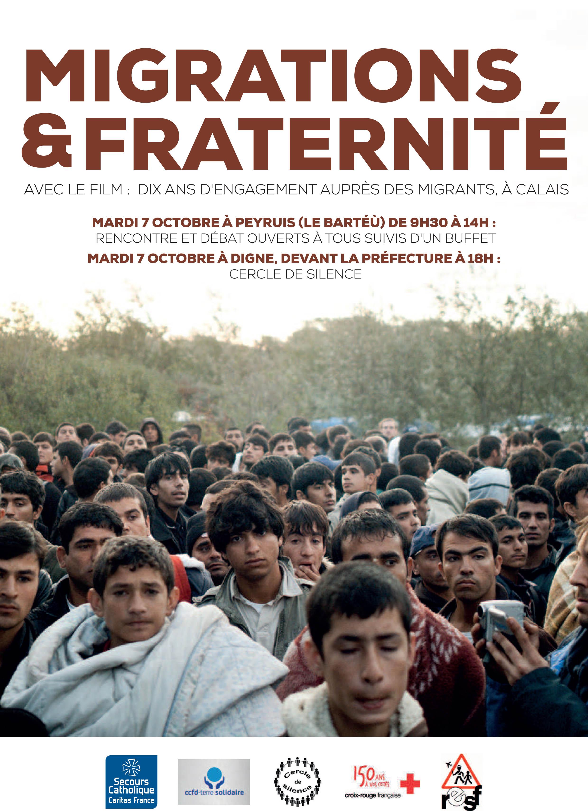 Des associations mettent en avant la fraternité pour lutter contre le rejet des migrants