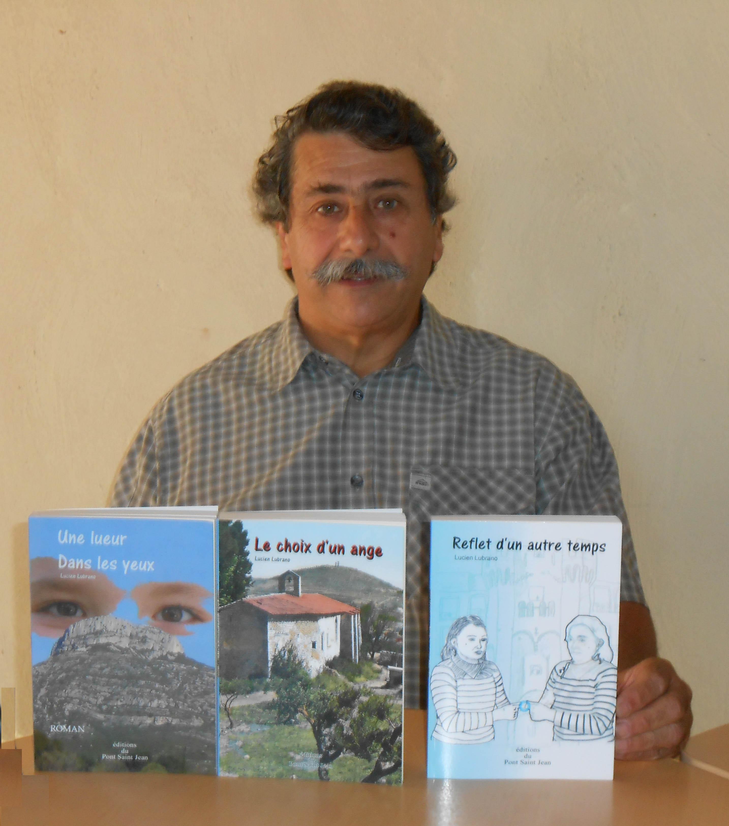Écrivain bas alpin : Lucien Lubrano est notre invité