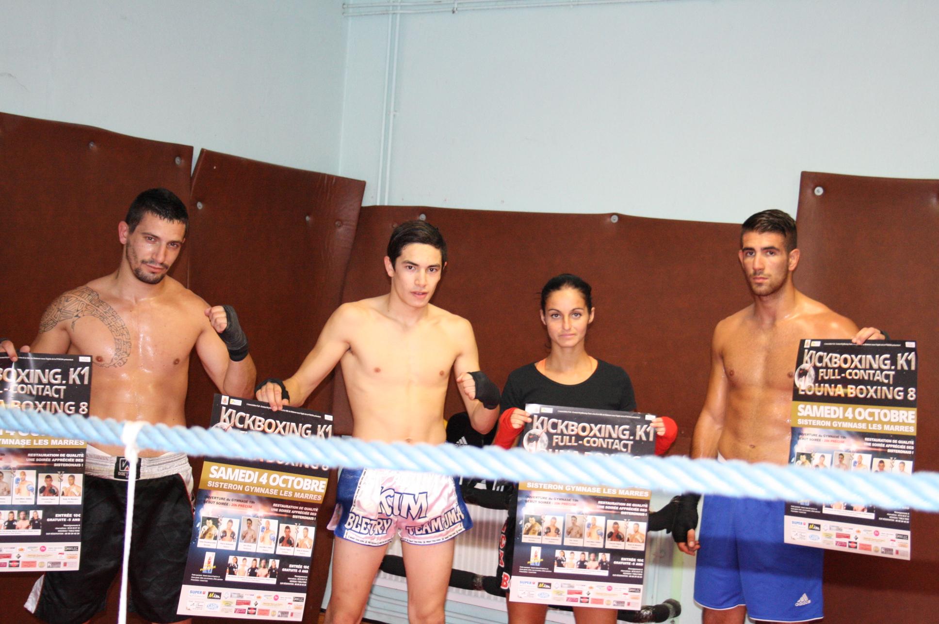 La 8ème édition de la soirée Louna Boxing approche à Sisteron