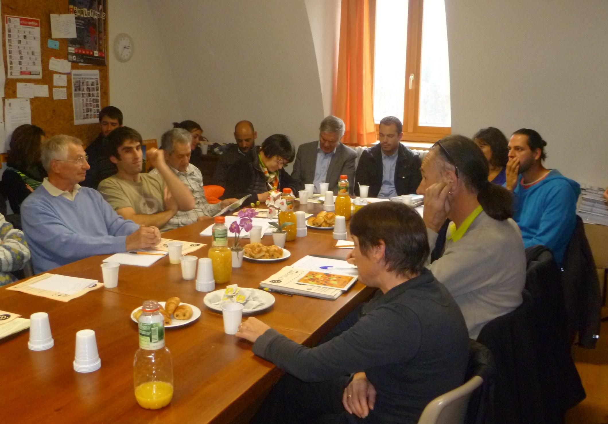 Le « Café Assos » : un échange direct élus-associations à Briançon !
