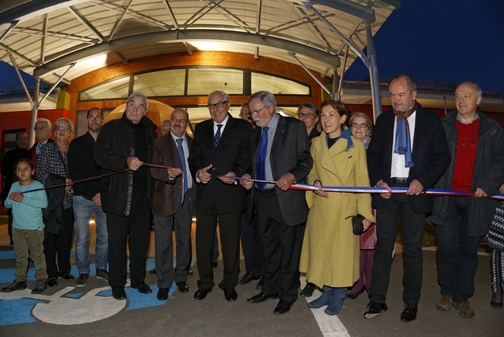 Inauguration du pôle multi-accueil du Moulin Neuf