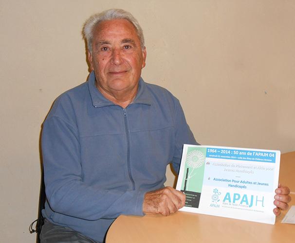 L'ApaJH fête ses 50 ans vendredi à Château-Arnoux.
