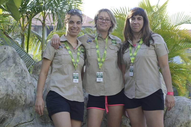 SUR LES TRACES DE NOS Les Fées no men, Raid Amazone l'Arbre vert 2014