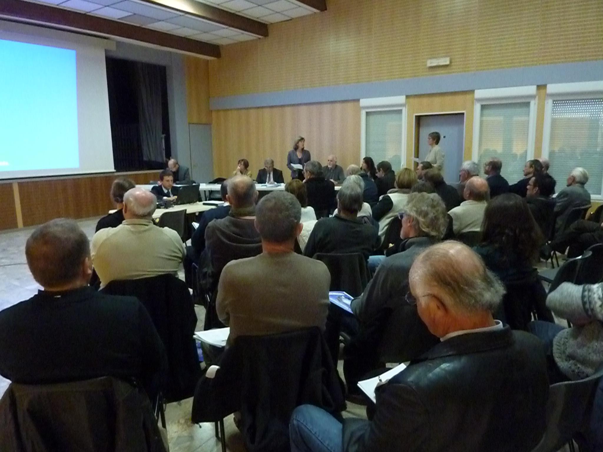 L'Etat et la Région ont évoqué la transition énergétique à Castellane