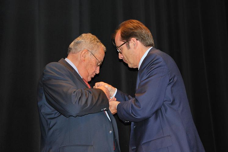 Jean-Claude Redolfi a été honoré hier