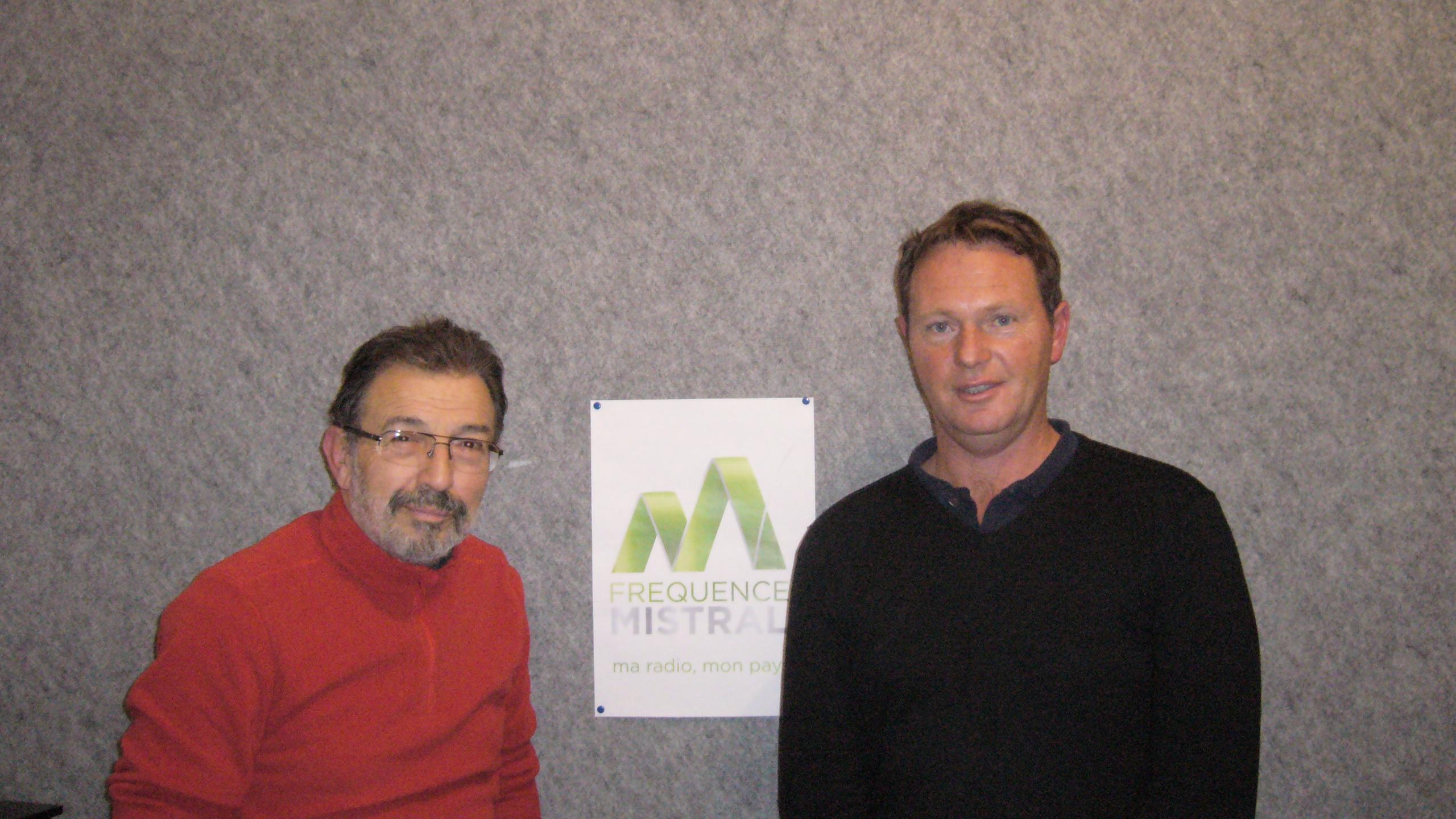 Bernard Simon et Sylvain Blanc
