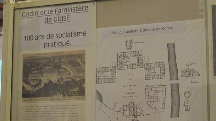 Au XIXème siècle, l'inventeur du Poêle Godin a aussi créé un palais social pour ses ouvriers.