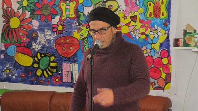 En résidence à Digne, James Fontaine a animé un atelier de poésie.
