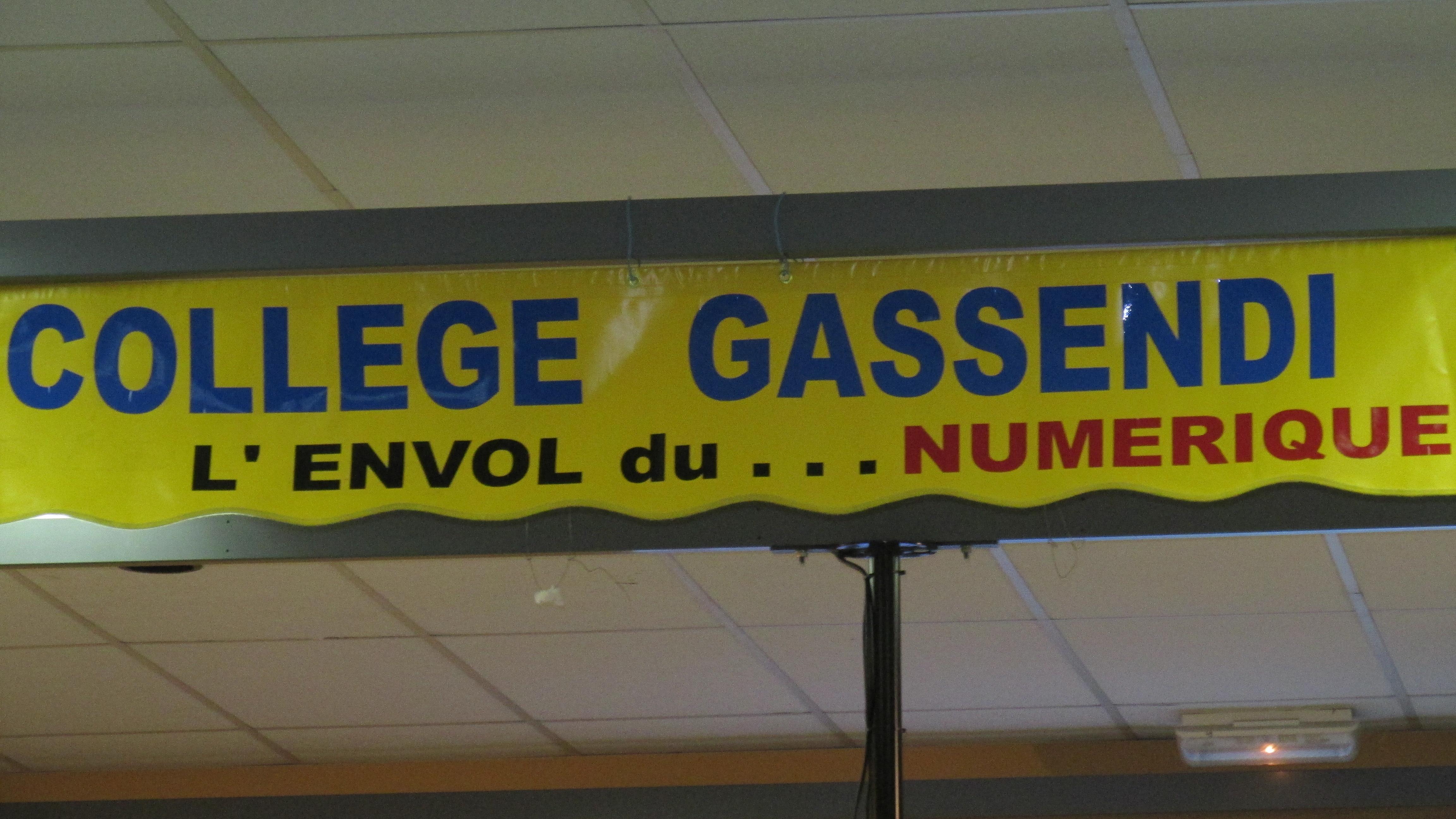 Un projet innovant au Collège Gassendi : le numérique est au service des élèves…