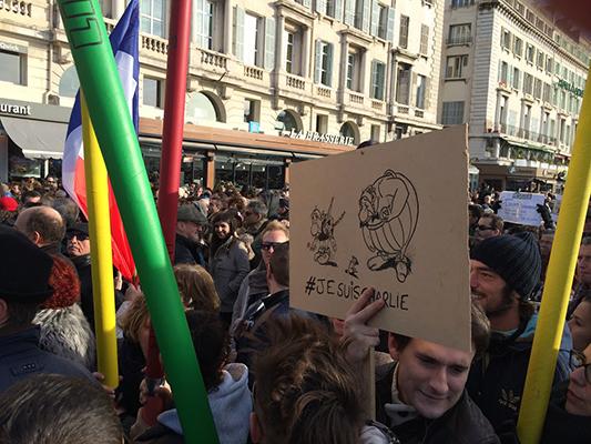 Le peuple de France a répondu de belle manière aux tragiques événements de la semaine dernière