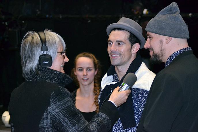 Les danseurs de la compagnie Havin'fun ont bouleversé les spectateurs du Centre Culturel René Char.