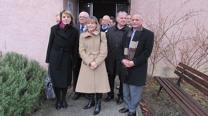 Une visite préfectorale à caractère économique dans l'arrondissement de Digne.