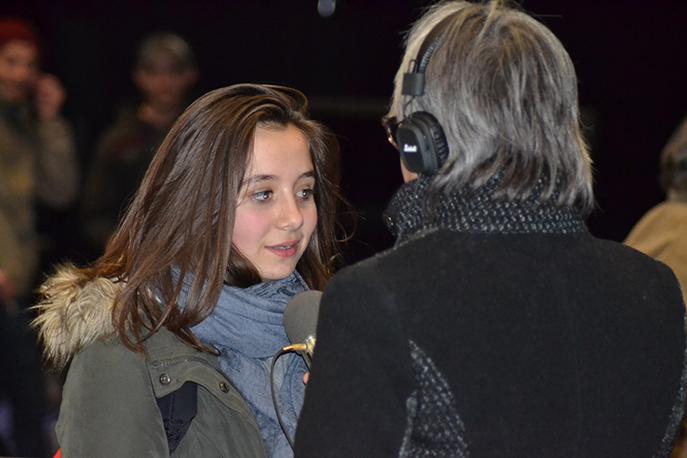 Collégienne à Digne, Gabie veut devenir journaliste.