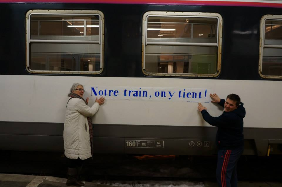 Ils s'opposent à la suppression du train Briancon/Paris