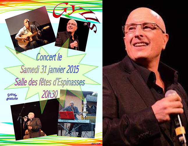 Gylls en concert samedi à Espinasses.