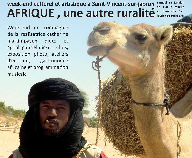 L'Afrique débarque à Saint-Vincent sur Jabron ce week-end !