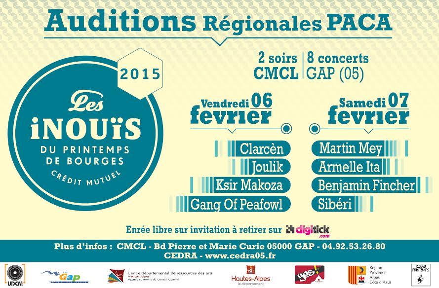 C'est parti pour le Printemps de Bourges 2015.