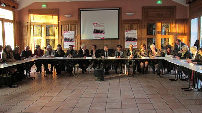 Gilbert Sauvan a présenté les candidats de la majorité départementale pour le scrutin de mars dans les Alpes de Haute-Provence.