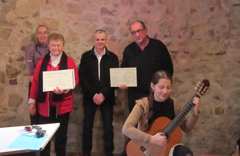 Claude Martel et Philippe Carrese lauréats des médiathèques de la DLVA