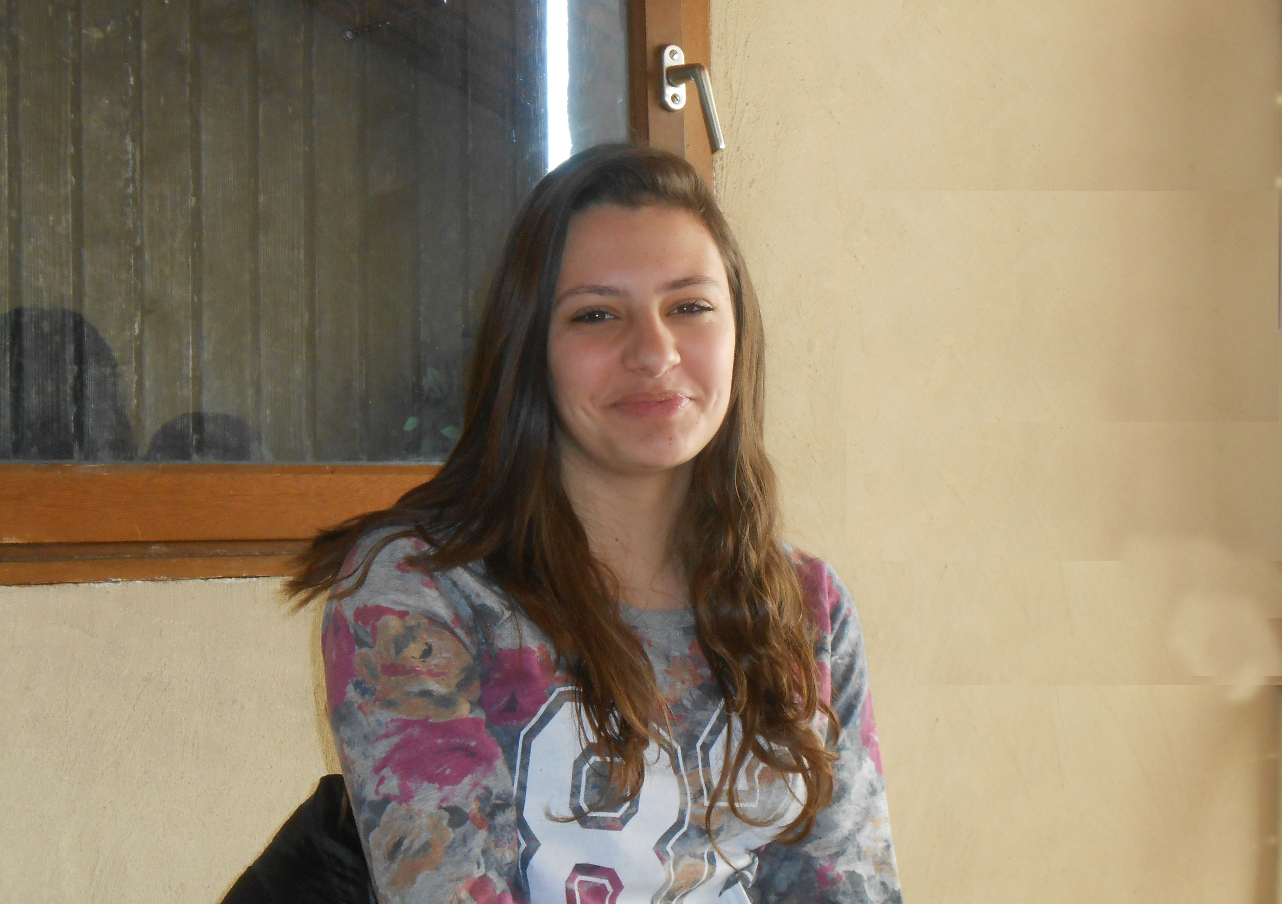 Elève de 2° au lycée Esclangon à Manosque, Noémie était en stage dans notre radio