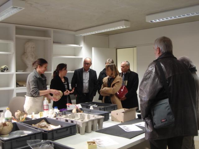 Une visite préfectorale dans le canton de Riez, sur un territoire chargé d'histoire