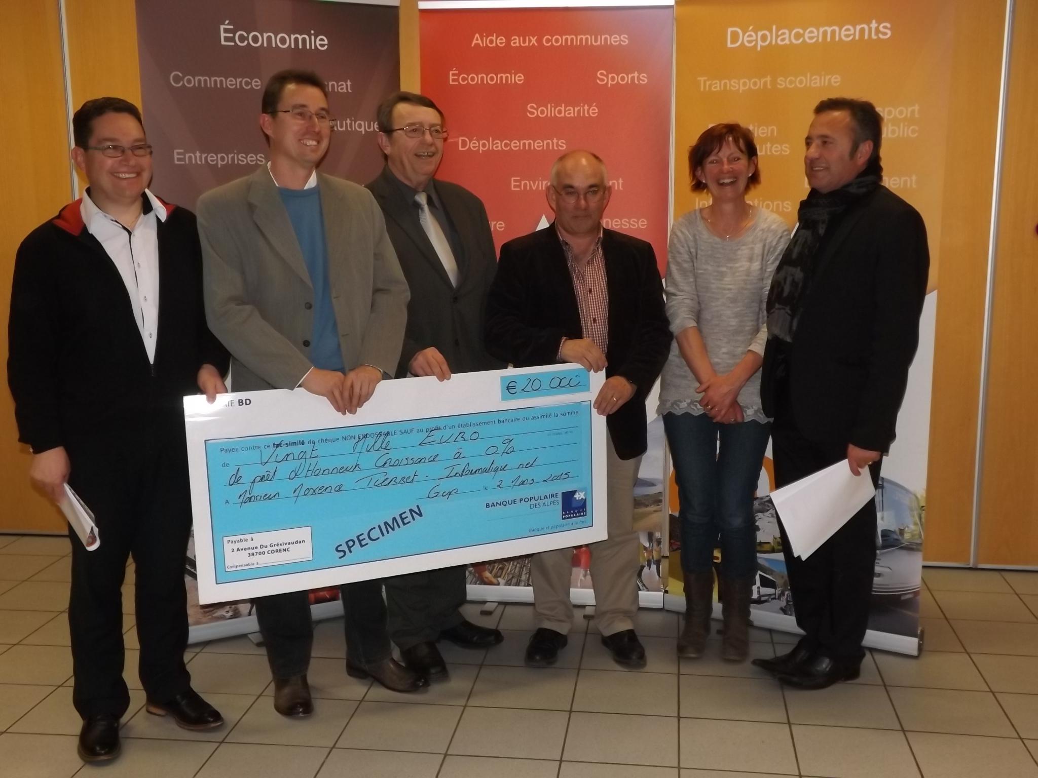 Initiative Nord Hautes-Alpes récompense un projet innovant par un prêt de 20 000 €