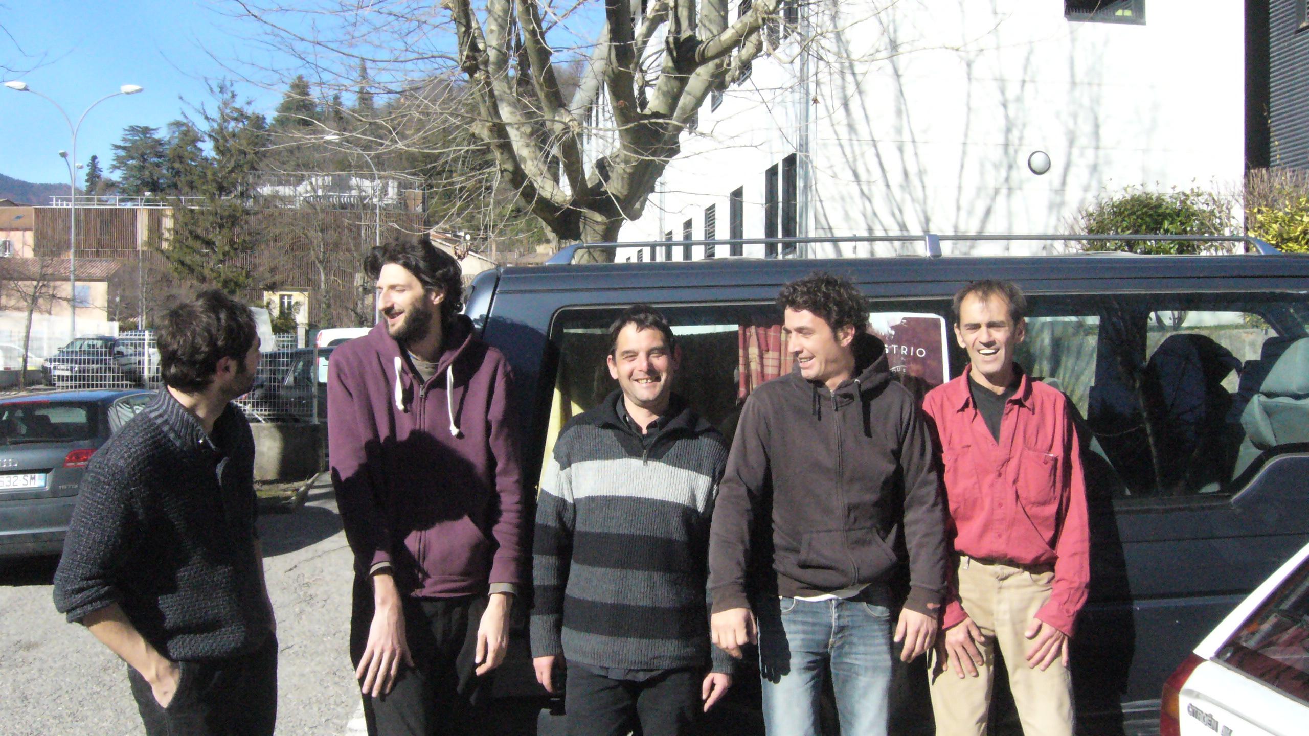 Ioanès Quintête métèque était en résidence à Digne.
