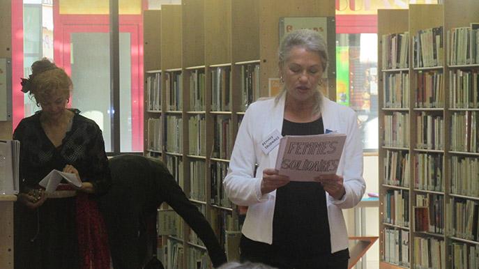 Des textes de femmes auteures et écrivaines ont été lus à Digne.