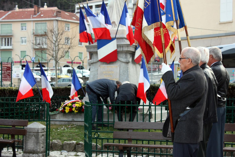 Le 53ème anniversaire du Cessez-le-feu de la guerre d'Algérie a été célébré à Sisteron !