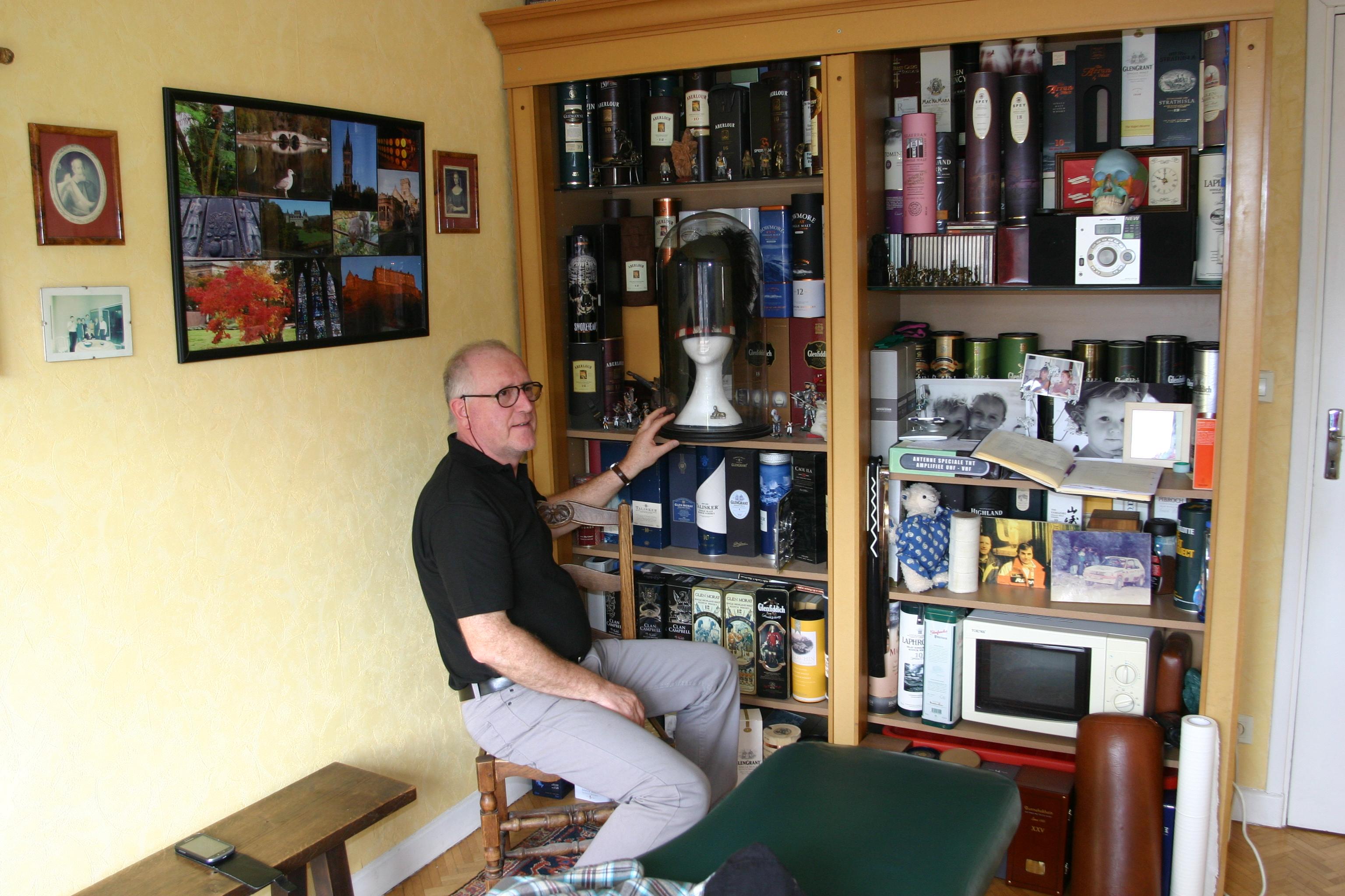 le gapençais Jean-François Hahn voue une passion sans limites à l'Ecosse.