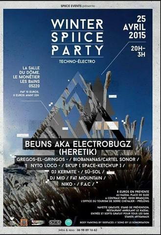 """Spiice Events présente son deuxième événement samedi 25 avril """"Winter Spiice Party""""!!!"""