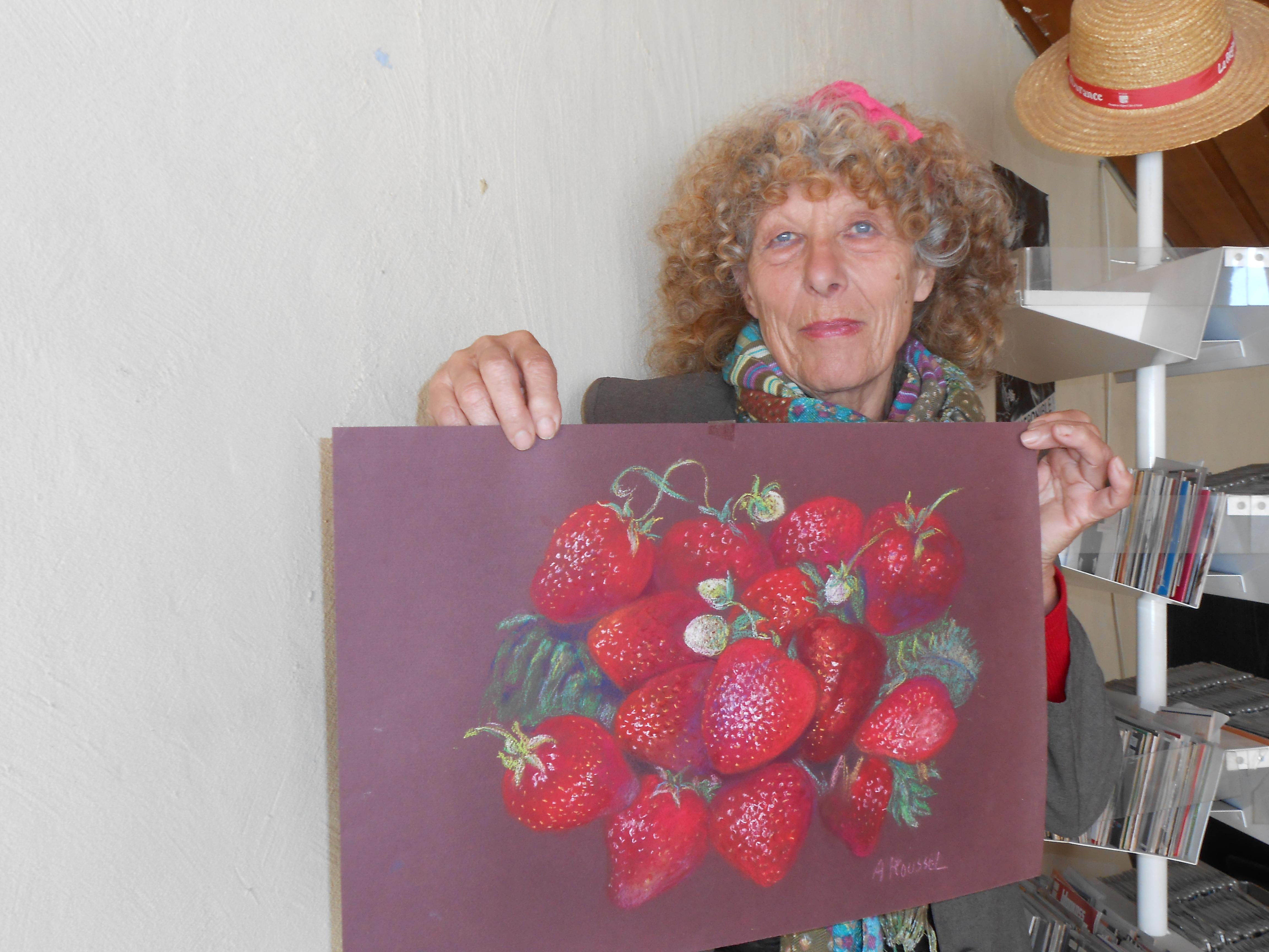"""Anne Roussel, peintre-pastelliste : """"je dessinais avant de marcher"""""""