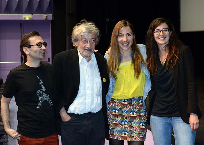 Edgar Morin, chronique d'un regard - film documentaire présenté aux  rencontres cinématographiques à Digne