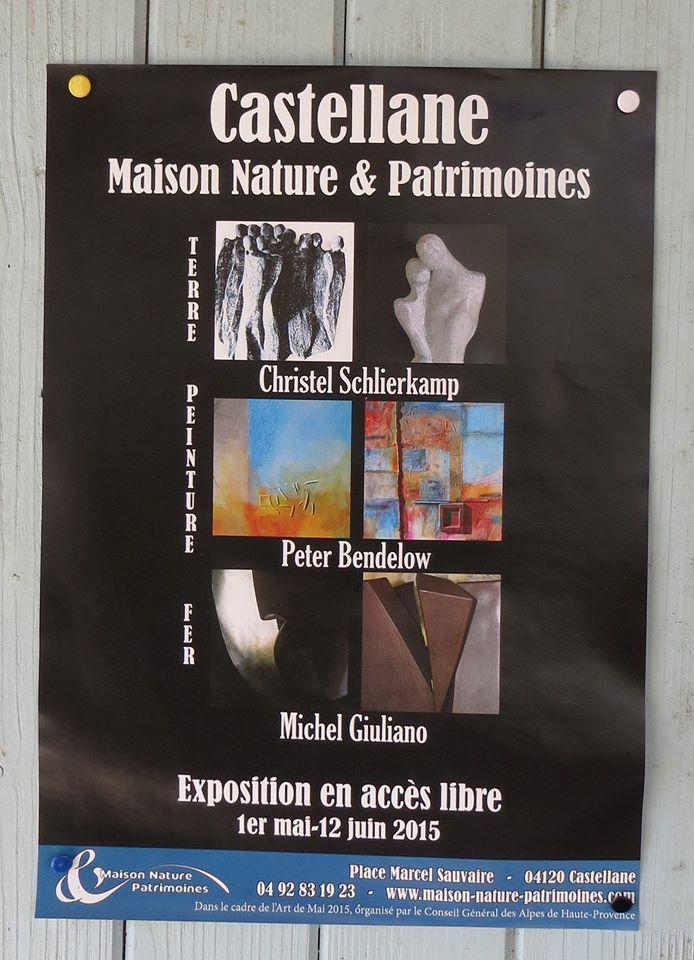 Pour le 1er mai, sculptures et peintures à  découvrir à Castellane