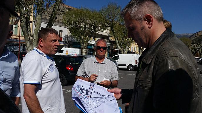 France Télévisions en repérage pour le Tour de France