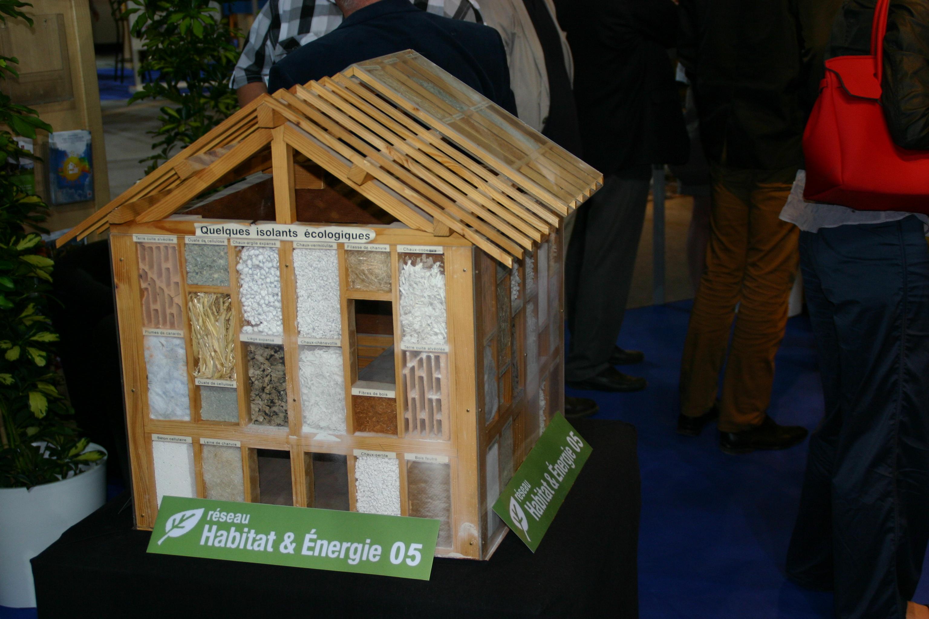 Le réseau Habitat et Energie 05 est présent à la Foire Expo de Gap.