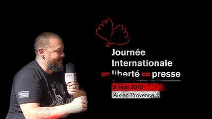 Les livres et la presse, tout l'univers de Mathieu Colombe qui dirige la librairie Goulard à Aix en Provence