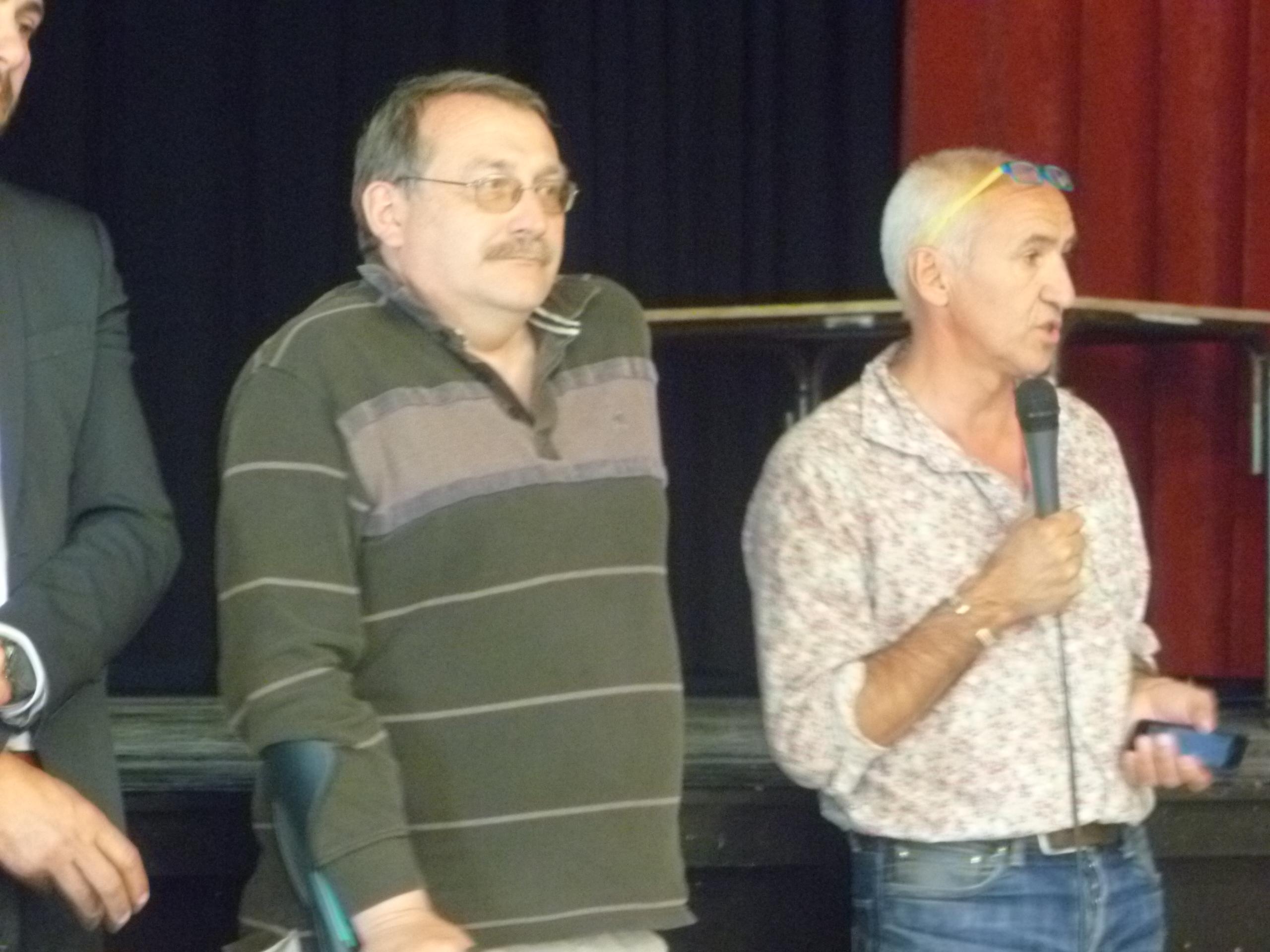 Joël Giraud et Pierre Leroy