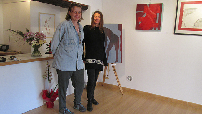 Deux élèves des Beaux Arts de Digne exposent