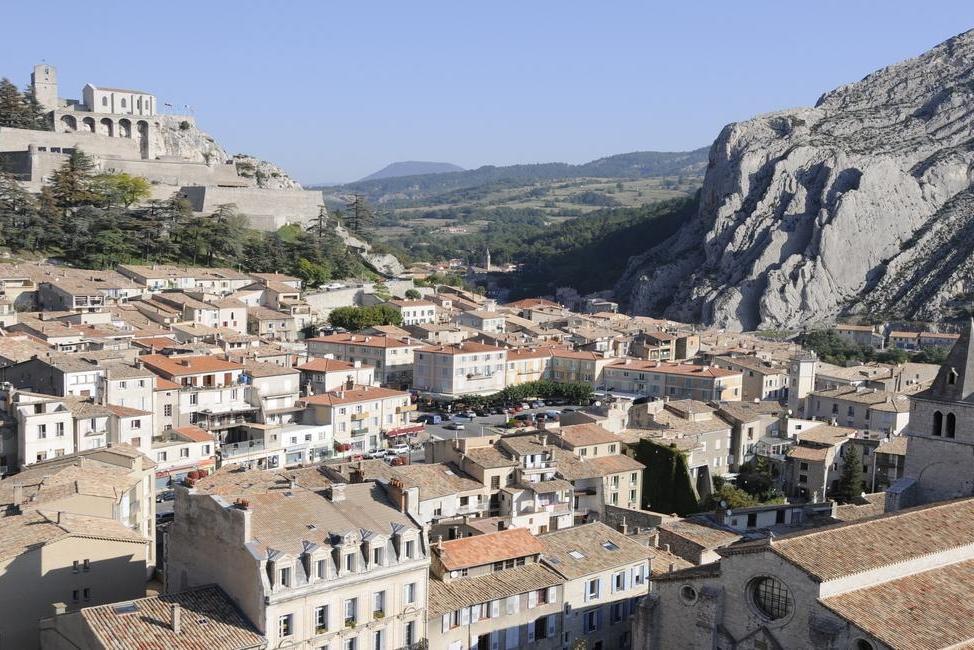 Contrairement à ce qu'a pu laisser comprendre France 2, Sisteron se porte bien !
